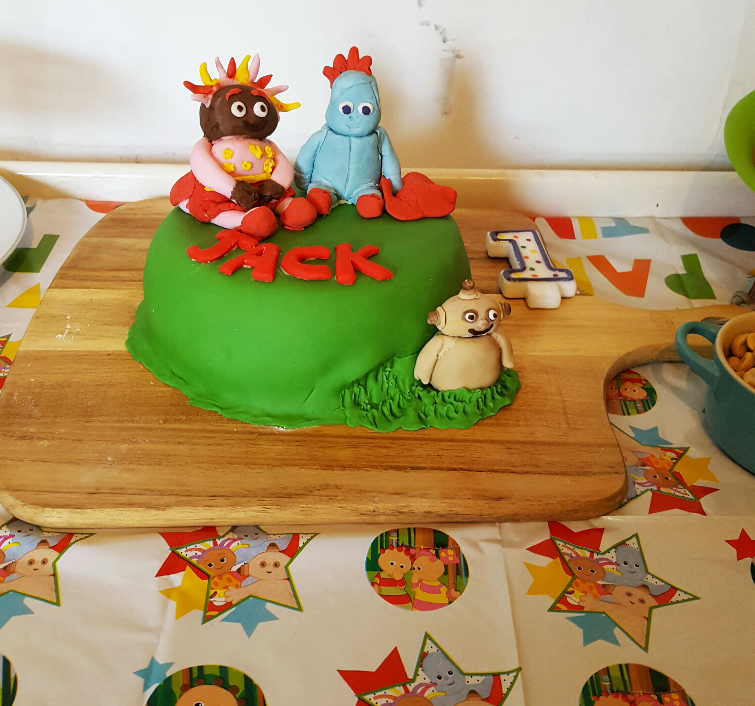 In the Night Garden 1st Birthday Cake… I BAKED! – The Mother Edit by ...