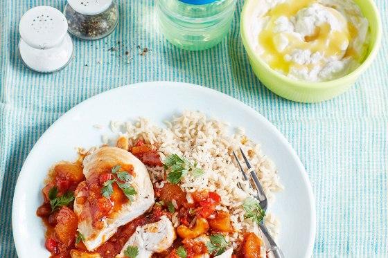 Spicy Apricot Chicken & Baby Apricot Swirl - My Sugar Free Baby Recipe